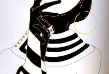 Charm / Fashion Illustrations