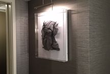 Viceroy L'Ermitage Hotel, Beverly Hills / portfolio of hotel installation shots featuring artwork placed by Paragone Gallery.