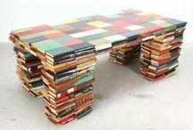 Boekenkunst en meubels