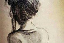 ~DRAWINGS~ / Paint, pen, pencil, textures