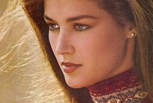 "Clotilde / Image of model Kristen ""Clotilde"" Darnell the elegant face of Ralph Lauren's 80's campaigns."