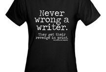 T-Shirts para Escritores