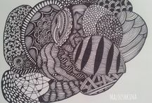 My Zentangle / This is about my art. My zentangle.