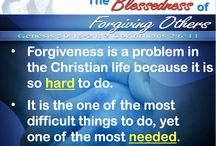 "Forgiveness Online Bible Study / We will begin our ""The Blessedness of Forgiving Others"" Online Bible Study. We pray this is beneficial to many lives through Christ Jesus our Lord. / by Freedom Baptist Church"