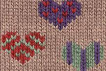 Вышивка по вязанию