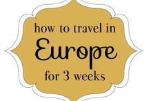 How to travel Europe in 3 weeks