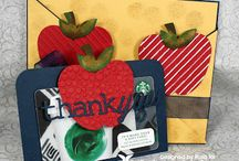 Thank You Cards + Gifts / Compilation of DIY Thank You Cards