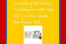 Elf on the Shelf Birthday Traditions