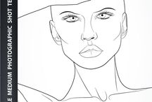 Fashion illustration template