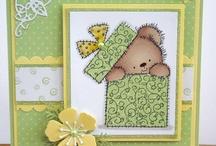 Teddy bear cards / Oh how cute