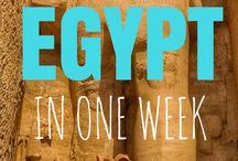 Egypt Travel Inspiration / Inspiration for your Egypt trip