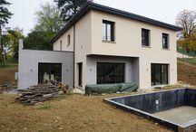 Maison contemporaine Lyon / construction de maison