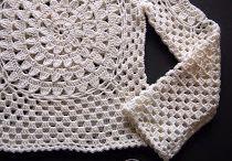 blusa crochê