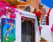 Greece colors / Just a collection of colors throughout Greece and the marvelous islands