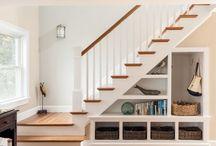 espacios debajo de la escalera