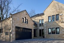Traditional Yorkshire Stone Houses / Conroy Brook build distinctive homes using traditional Yorkshire stone. Here are just a selection.