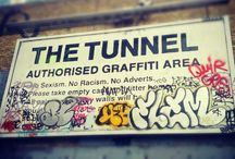2014 Femme Fierce / 100+ Female Street artists and Graffiti writers take over the infamous Banksy tunnel at Leake Street, London to break the Guinness World Record for Longest Spray Paint Mural by a Team, raise money for Charity and celebrate International Women's day. #FemmeFierce