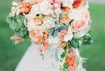 wedding flowers / Flower arrangements for a wedding