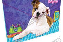 Carpetas Puppies / Línea Escolar Primavera Regresa a Clases con TODO