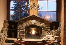 Bathroom Fireplaces / Warm up your bathroom remodeling project with these fireplace ideas!