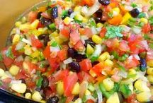 Dips/Salsa / by Stacy Booker