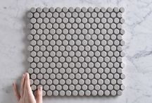 TileClouds Penny Round Tiles