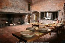 medieval kitchen & home