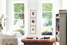 LIVING ROOM SPACES.