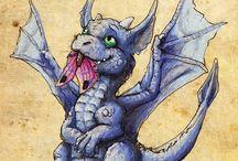 dragon ,Fairy and such / by Bolin Lenhart