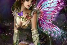 Engel, Elfen, Einhörner, Drachen