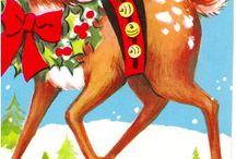 Vintage Christmas Illustrations