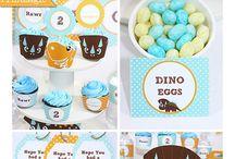 Dinosaur Party Ideas / Ideas your next Dinosaur Party!