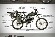 Unique Motorbike.