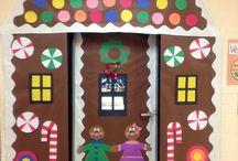 Classroom Door Decorations Winter
