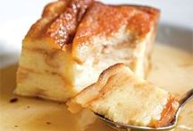 Bread pudding/ sweet and savoury/stuffing