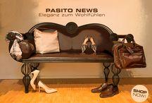 Eleganz zum Wohlfühlen / Entspannt zurücklehnen und elegante Designstücke shoppen! www.pasito.ch