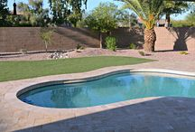 Swimming Pool Decks | Hot Tubs | Jacuzzis | Spas / Aesthetically pleasing upgrades to backyard water luxuries. Make it your own oasis.