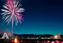 #CSUHomecoming / Homecoming: Dances, fireworks, football, and returning home to Colorado State.