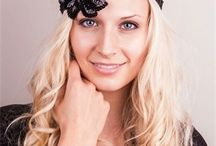 Headbands /  I'm please to bring you're my 1920's inspired headbands. An elasticated band with a sparkly appliqué. Wear as a headband or wrap around your hand to form a cuff.You can even wear as a necklace. Have fun.