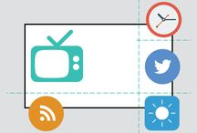 Multi-function UI / Divide up your Legato Digital Screen into multiple regions and blow your audience away with simultaneous information sources. TV, images, video, Twitter feeds, live data etc.