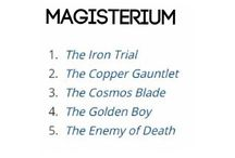 the iron trial books