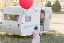 Vintage Caravans / A collection of vintage caravans and campers. #vintagecaravans #vintagecampers #vintage #camping #glamping #fun #outdoors
