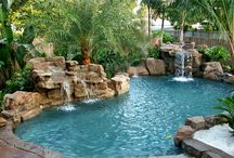 Yard, Patio, & Pool ideas / by Elizabeth Vlach
