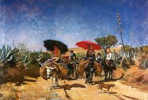 Pintores Portugueses / Pintura e aguarela