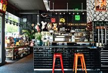 Interior Design // Restaurants-Coffee Shop-Stores // Industrial / by Clara Sanz
