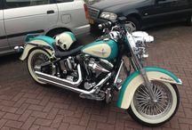 Cool softail / Bikes I love