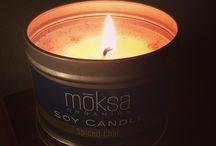 .moksa candles.