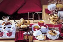 Brunch / Frühstück mit Freunden und Familie