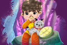 CHILDREN ILLUSTRATION / my children illustrations