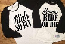 oblečenie dieťa a matka